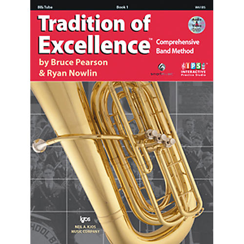 KJOS Tradition Of Excellence Book 1 for Tuba-thumbnail