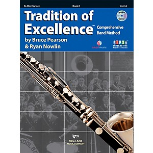 KJOS Tradition Of Excellence Book 2 for Alto Clarinet by KJOS