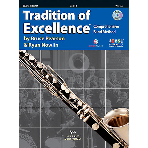KJOS Tradition Of Excellence Book 2 for Alto Clarinet-thumbnail