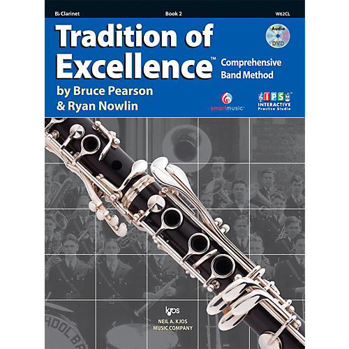 KJOS Tradition Of Excellence Book 2 for Clarinet-thumbnail