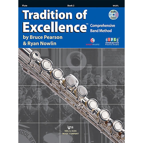 KJOS Tradition Of Excellence Book 2 for Flute-thumbnail