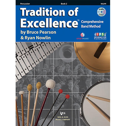 KJOS Tradition Of Excellence Book 2 for Percussion-thumbnail