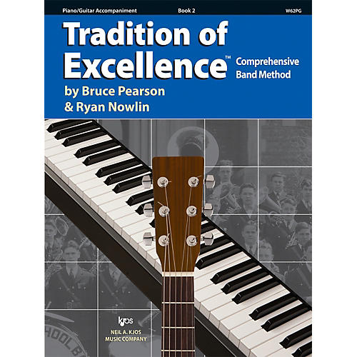 KJOS Tradition Of Excellence Book 2 for Piano / Guitar-thumbnail