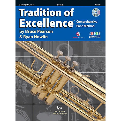 KJOS Tradition Of Excellence Book 2 for Trumpet