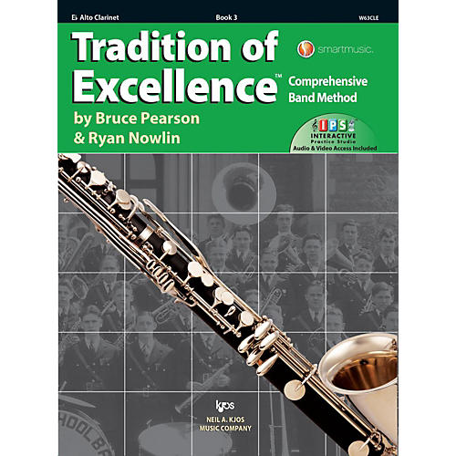 KJOS Tradition of Excellence Book 3 Alto clarinet-thumbnail