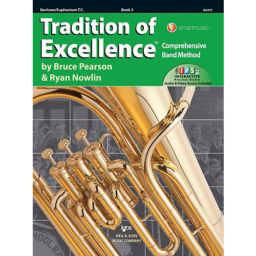 KJOS Tradition of Excellence Book 3 Baritone/euphonium TC-thumbnail