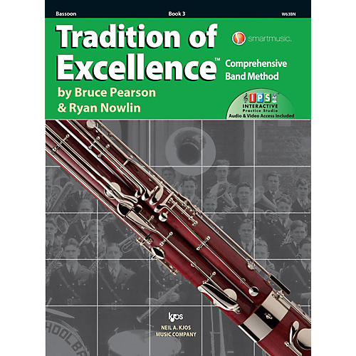 KJOS Tradition of Excellence Book 3 Bassoon-thumbnail