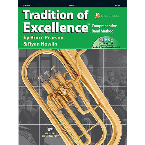 KJOS Tradition of Excellence Book 3 Eb Horn-thumbnail