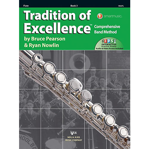 KJOS Tradition of Excellence Book 3 Flute-thumbnail