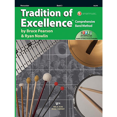 KJOS Tradition of Excellence Book 3 Percussion-thumbnail