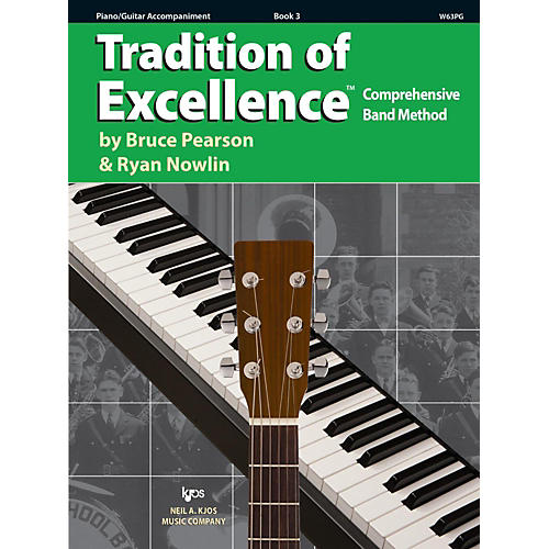 KJOS Tradition of Excellence Book 3 Piano/guitar-thumbnail