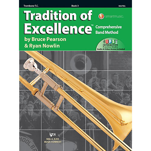 KJOS Tradition of Excellence Book 3 Trombone TC-thumbnail