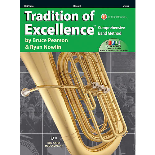 KJOS Tradition of Excellence Book 3 Tuba-thumbnail