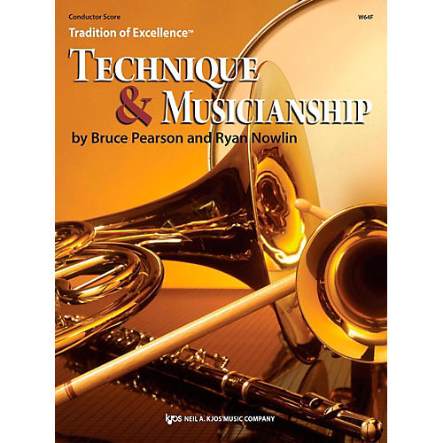 KJOS Tradition of Excellence: Technique & Musicianship Conductor Score-thumbnail