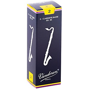 Vandoren Traditional Bass Clarinet Reeds