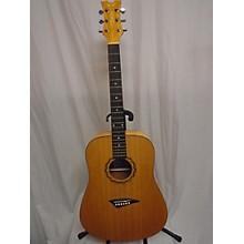 Dean Traditional Exotic Birdseye Acoustic Guitar