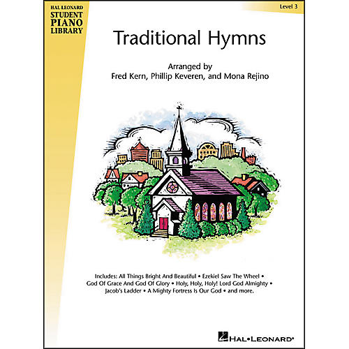 Hal Leonard Traditional Hymns Level 3 Hal Leonard Student Piano Library-thumbnail