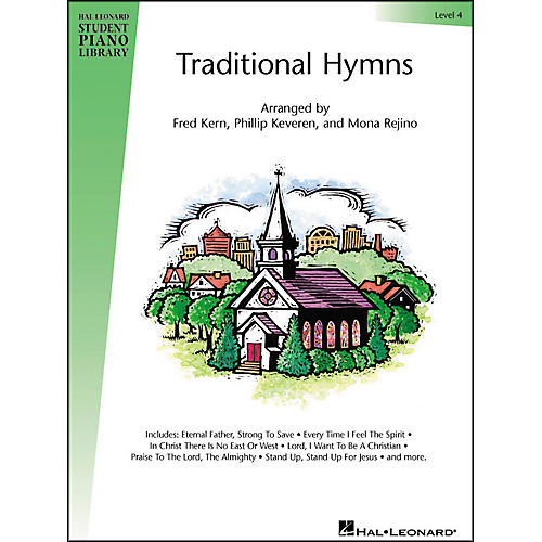 Hal Leonard Traditional Hymns Level 4 Hal Leonard Student Piano Library-thumbnail