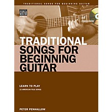 String Letter Publishing Traditional Songs for Beginning Guitar String Letter Publishing Softcover with CD by Peter Penhallow