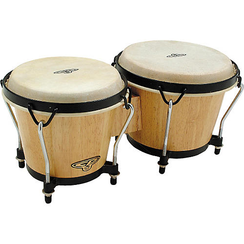 CP Traditional Wood Bongos-thumbnail