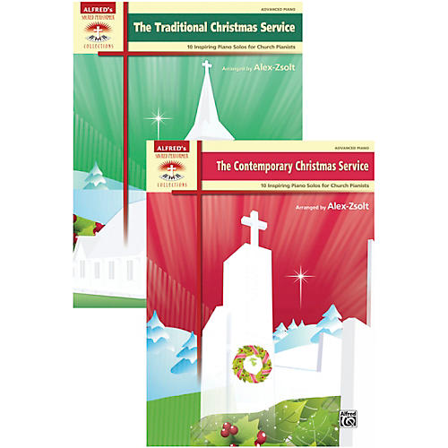Alfred Traditional and Contemporary Christmas Service Value Pack-thumbnail