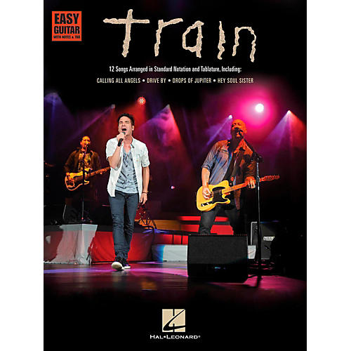 Hal Leonard Train - Easy Guitar with Tab-thumbnail