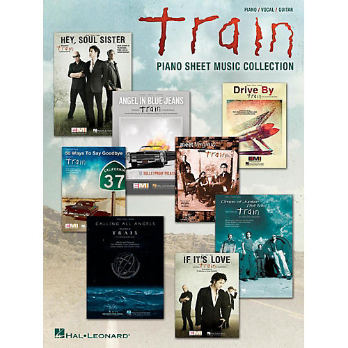 Hal Leonard Train - Piano Sheet Music Collection for Piano/Vocal/Guitar-thumbnail