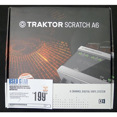 Native Instruments Traktor Scratch A6 Audio Interface-thumbnail