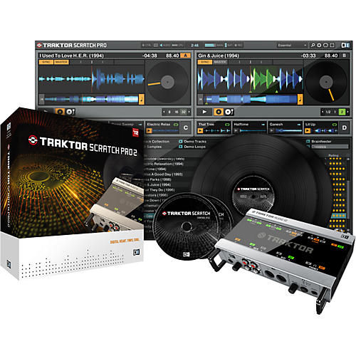Native Instruments Traktor Scratch Pro 2-thumbnail