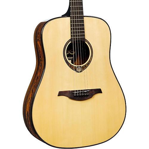 Lag Guitars Tramontane Limited Edition TSE701D Snakewood Dreadnought Acoustic Guitar