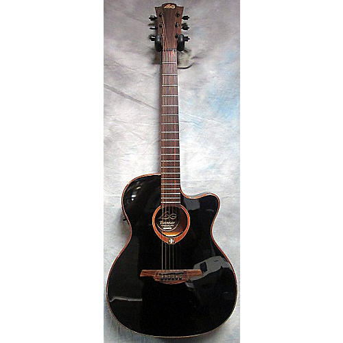 In Store Used Tramontane T100ASCE Black Acoustic Electric Guitar-thumbnail