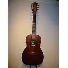 Lag Guitars Tramontane T90PE Parlor Acoustic Acoustic Electric Guitar