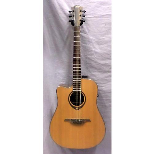 used lag guitars tramontane tl300dce stage left handed acoustic electric guitar guitar center. Black Bedroom Furniture Sets. Home Design Ideas