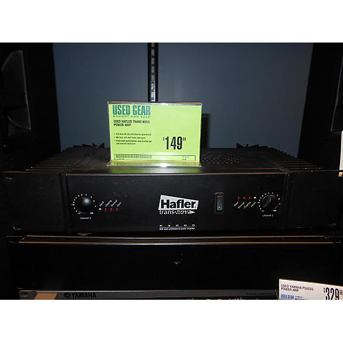 In Store Used Trans Nova Power Amp