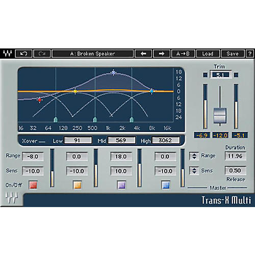 Waves Trans X Native/TDM/SG Software Download-thumbnail