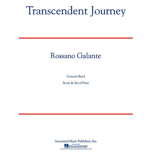 G. Schirmer Transcendent Journey Concert Band Level 5 Composed by Rossano Galante
