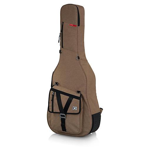 Gator Transit Series Acoustic Guitar Gig Bag Tan