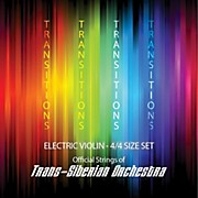 Super Sensitive Transitions Electric Violin Strings Full Set