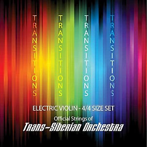 Super Sensitive Transitions Electric Violin Strings Full Set