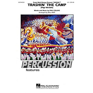 Hal Leonard Trashin' the Camp Percussion Feature Marching Band Level 2-3