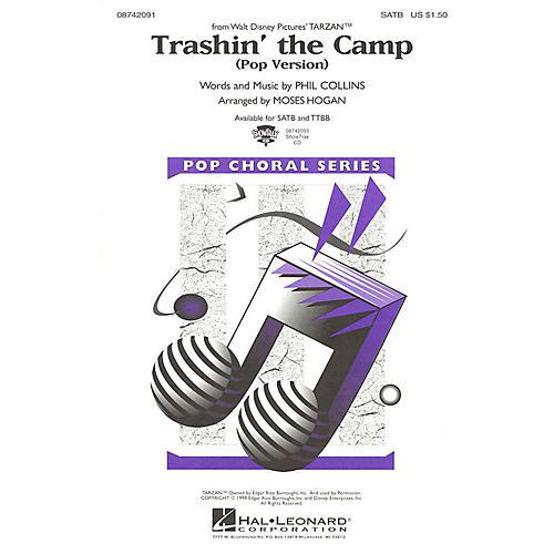 Hal Leonard Trashin' the Camp (Pop Version) (from Tarzan) TTBB DIVISI Arranged by Moses Hogan