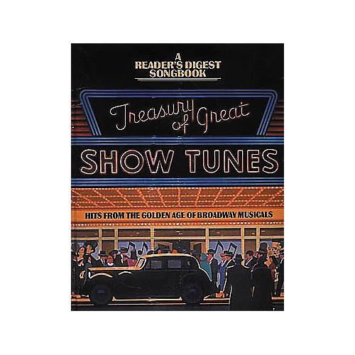 Hal Leonard Treasury Of Great Show Tunes Piano/Vocal/Guitar Songbook-thumbnail