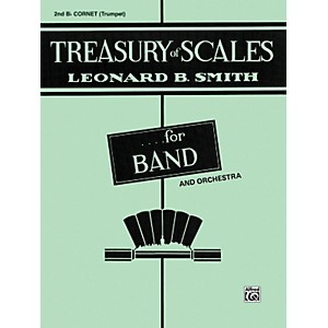 Alfred Treasury of Scales for Band and Orchestra 2nd B-Flat Cornet by Alfred