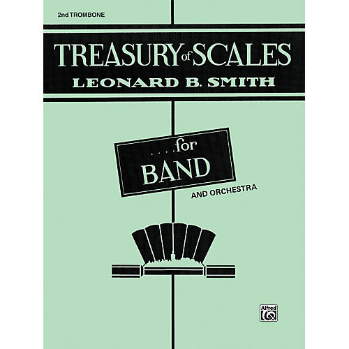 Alfred Treasury of Scales for Band and Orchestra 2nd Trombone-thumbnail