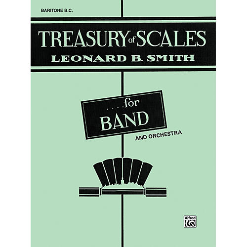 Alfred Treasury of Scales for Band and Orchestra Baritone B.C.