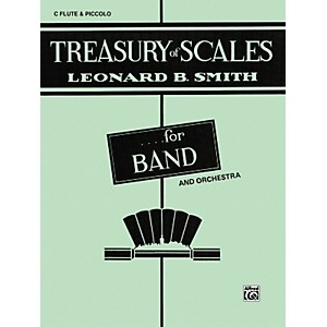 Alfred Treasury of Scales for Band and Orchestra C Flute Piccolo