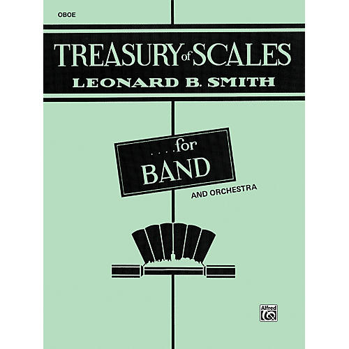 Alfred Treasury of Scales for Band and Orchestra Oboe-thumbnail