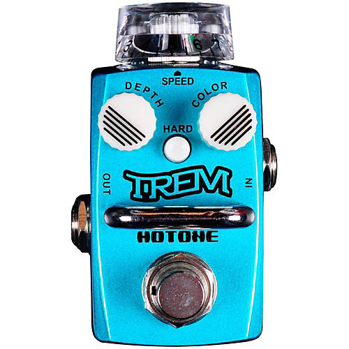Hotone Effects Trem Analog Tremolo Skyline Series Guitar Effects Pedal