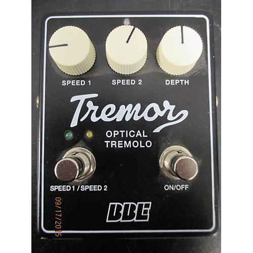 BBE Tremor Analog Tremolo Effect Pedal-thumbnail