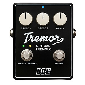 BBE Tremor Analog Tremolo Guitar Effects Pedal by BBE
